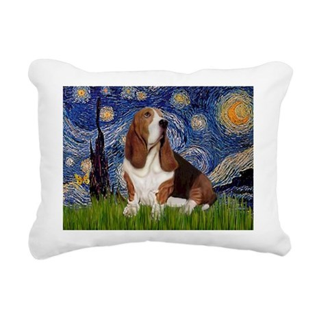 5.5x7.5-Starry-Basset2.png Rectangular Canvas Pill