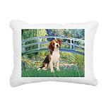 TILE-Bridge1-Beagle1.png Rectangular Canvas Pillow