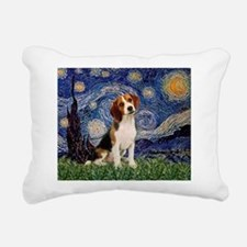 MP-Starry-Beagle1-nc.PNG Rectangular Canvas Pillow