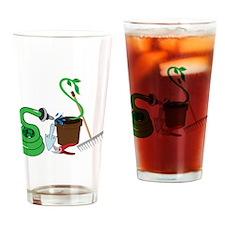 Garden Tools Drinking Glass