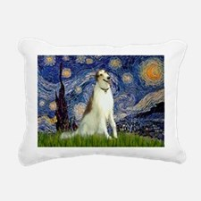 5.5x7.5-Starry-Borzoi1b.png Rectangular Canvas Pil