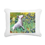 MP-Irises - Bull Terrier 3.png Rectangular Canvas
