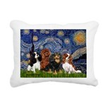 Starry-CavalierQUAD.png Rectangular Canvas Pillow