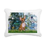 57-Lilies1-CHIH2.png Rectangular Canvas Pillow