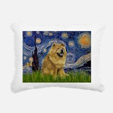 5.5x7.5-Starry-Chow1.png Rectangular Canvas Pillow