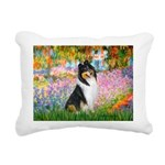 MP-GARDEN-Collie-Tri3.png Rectangular Canvas Pillo