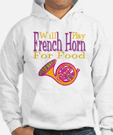 Will Play French Horn Hoodie