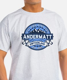 Andermatt Blue T-Shirt