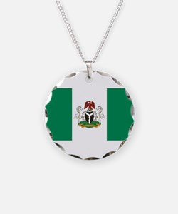 Nigeria - State Flag - Current Necklace