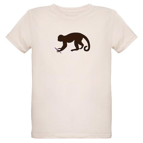 Annie's Boobs - The Monkey Organic Kids T-Shirt