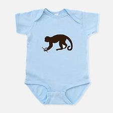 Annie's Boobs - The Monkey Infant Bodysuit