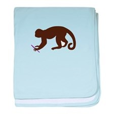Annie's Boobs - The Monkey baby blanket
