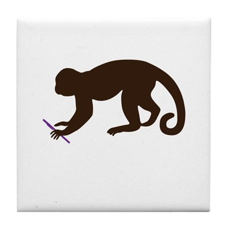 Annie's Boobs - The Monkey Tile Coaster