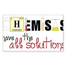 All The Solutions Decal