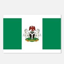 Nigeria - State Flag - Current Postcards (Package