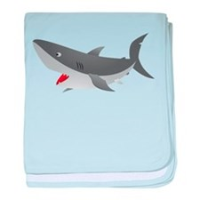 Shark Attack Shirt for Kids baby blanket