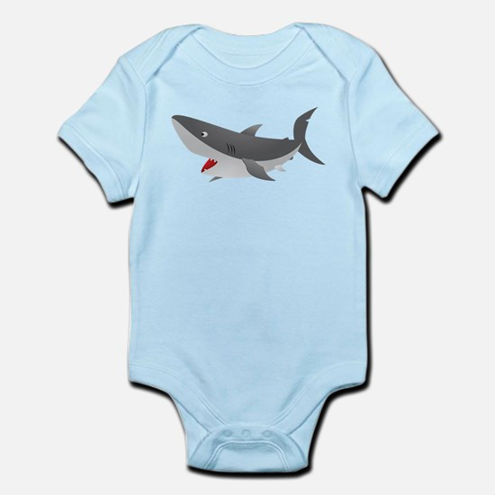 Shark Attack Shirt for Kids Infant Bodysuit