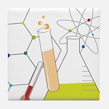 Chemistry Stuff Tile Coaster