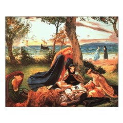 King Arthur in Avalon Unframed Print