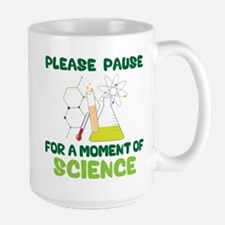 Please Pause Large Mug