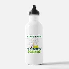 Please Pause Water Bottle