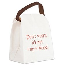 Dont Worry Canvas Lunch Bag