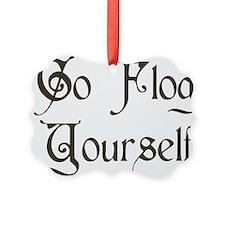 Go Flog Yourself Ornament