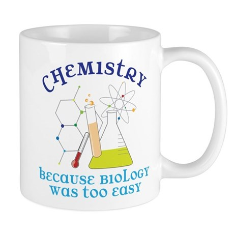Biology Was Too Easy Mug