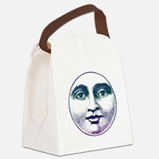 Man in the Moon Canvas Lunch Bag
