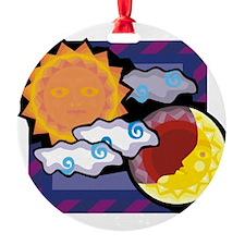 Sun Moon Ornament