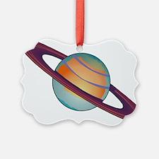Planet Saturn Ornament