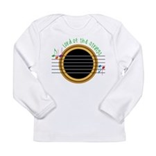 Lord Of The Strings Long Sleeve Infant T-Shirt