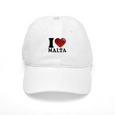 I Heart Malta Baseball Baseball Cap