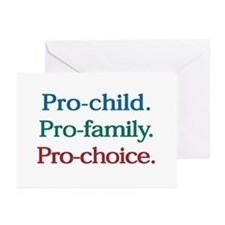 Pro-Choice Greeting Cards (Pk of 10)
