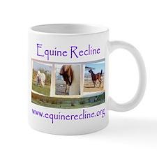 Equine Recline Mug with Horses