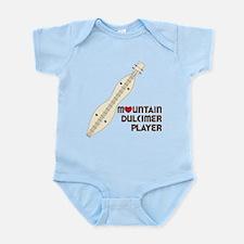Mountain Dulcimer Player Infant Bodysuit