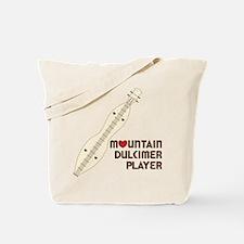 Mountain Dulcimer Player Tote Bag