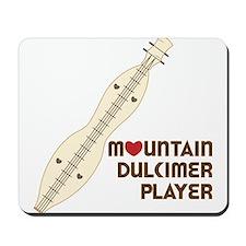 Mountain Dulcimer Player Mousepad