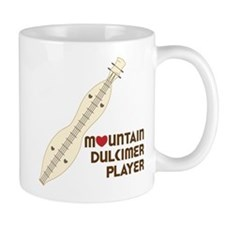 Mountain Dulcimer Player Mug
