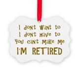 Humor Picture Frame Ornaments