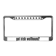 Got Irish Wolfhound? License Plate Frame