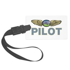 RV Pilot Luggage Tag