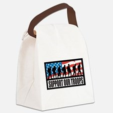 Support our troops - Infantry Canvas Lunch Bag