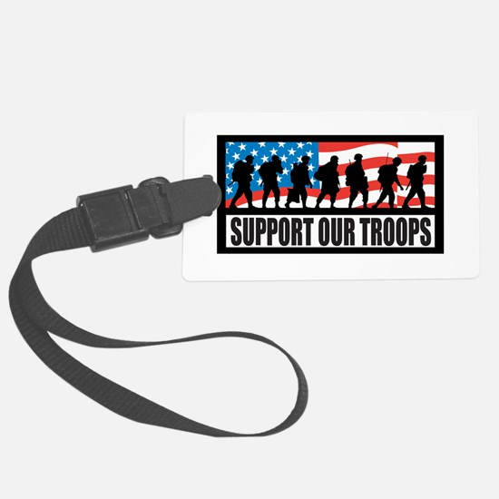 Support our troops - Infantry Luggage Tag