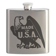 Made in USA Patriotic Flask