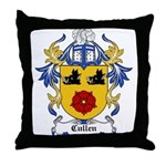 Cullen Coat of Arms Throw Pillow