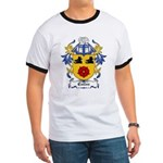 Cullen Coat of Arms Ringer T