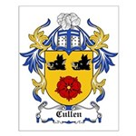 Cullen Coat of Arms Small Poster