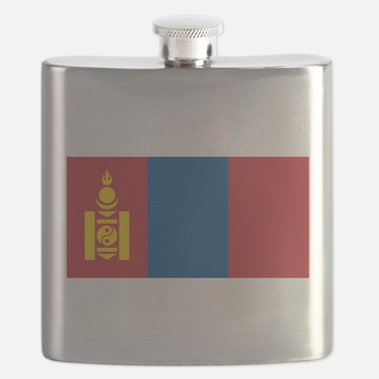 Mongolia - National Flag - Current Flask