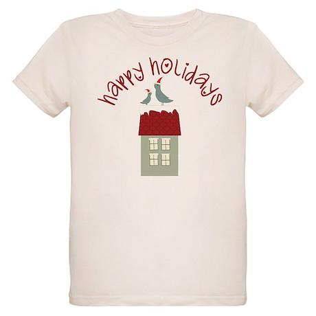 Happy Holidays Organic Kids T-Shirt